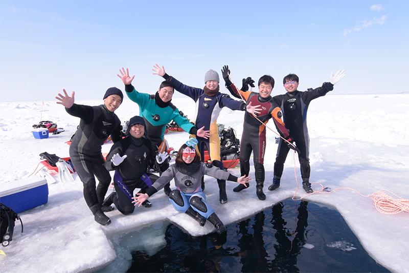 2月22日~25日 知床流氷ダイブツアー