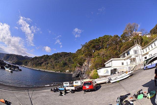 赤沢ビーチと施設