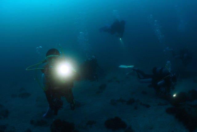 サンセット水中 ライト