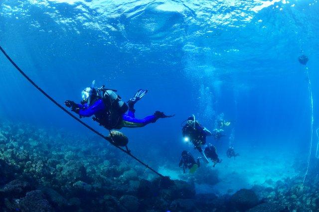 水が透き通る季節!青い浮遊感を味わえる海!