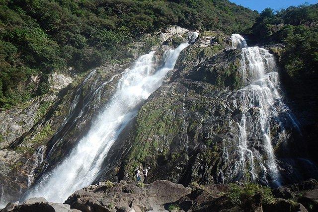 大迫力の滝