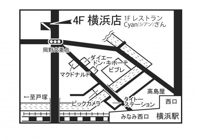 横浜店地図