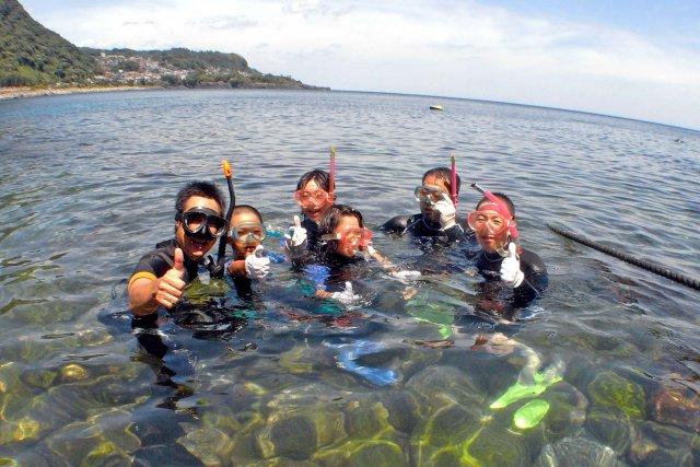 夏は家族で海へ行こう!!伊豆シュノーケリング&ダイビングコース