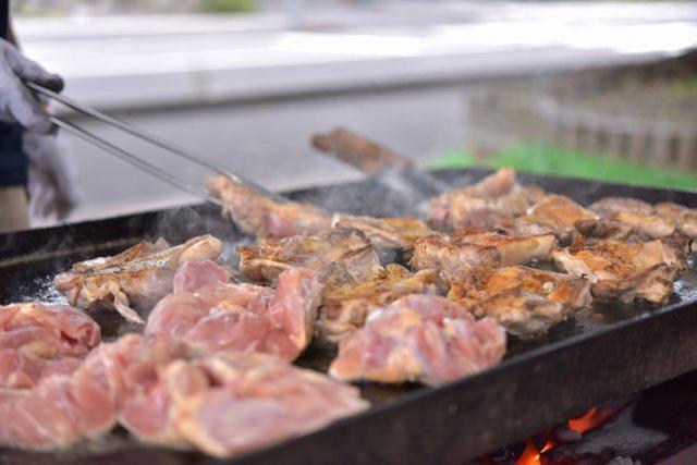 鶏肉BBQ