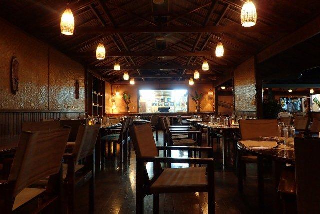 雰囲気たっぷりのレストラン