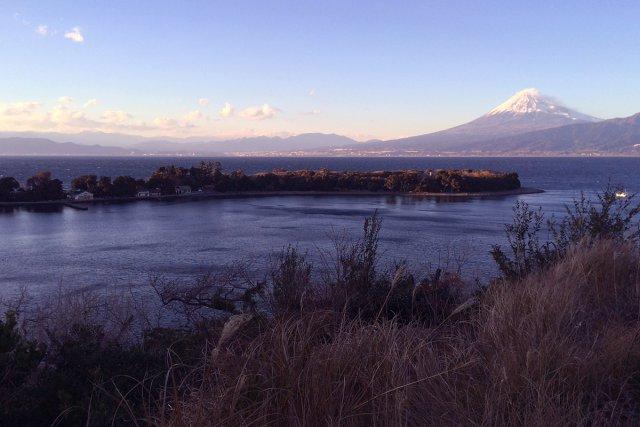 富士山と大瀬崎
