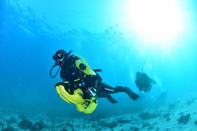 水中スクーター