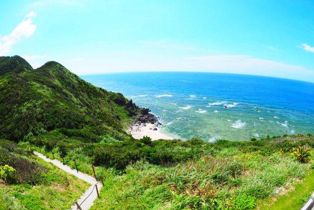 見晴台からの海