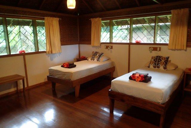 リゾートの客室