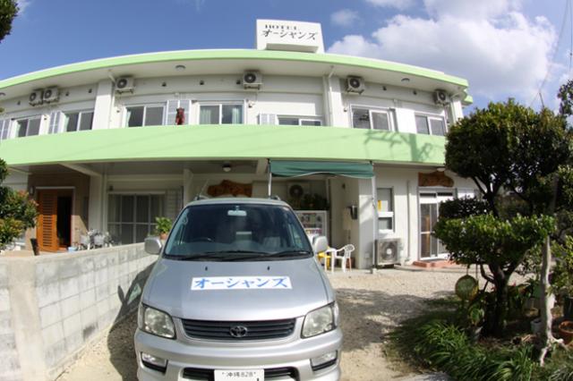 沖縄離島らしい宿