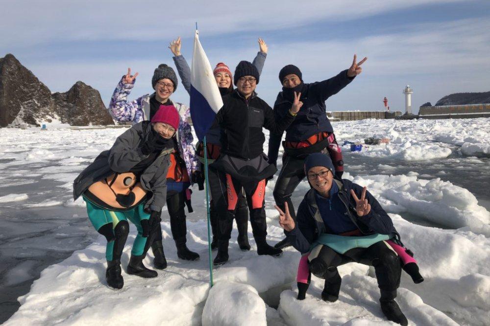 2月15日~18日 知床流氷ダイブツアー