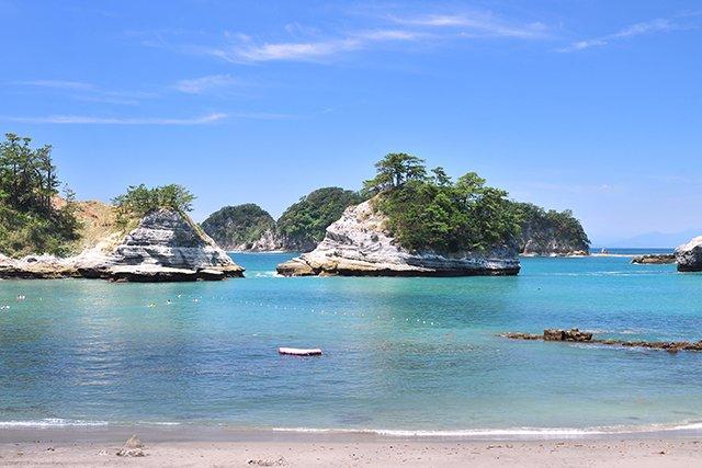 景勝地で有名な堂ヶ島