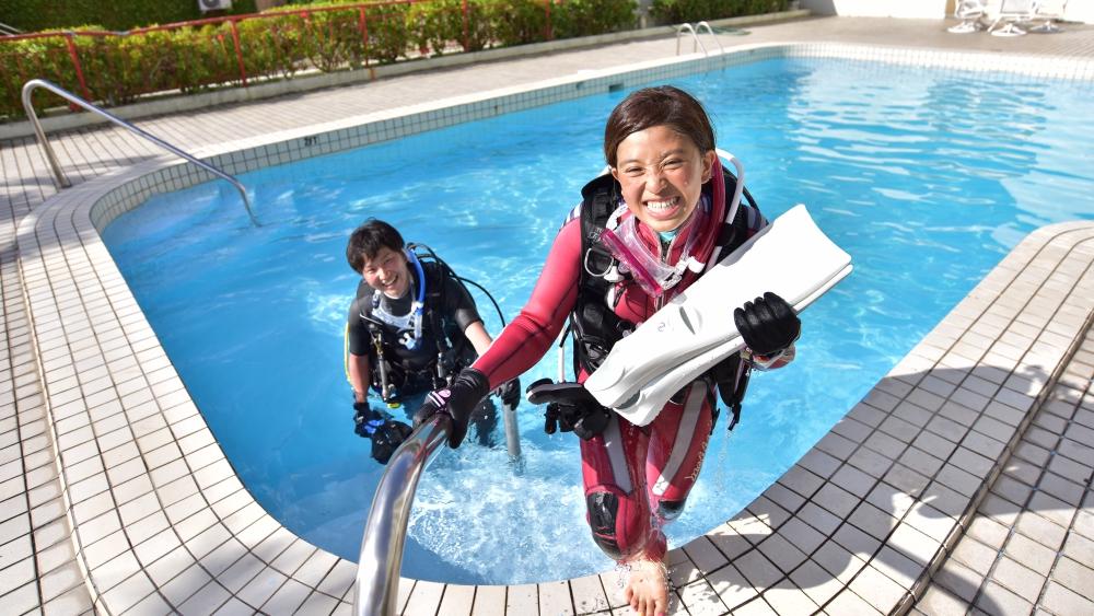 体験ダイビングは気軽に海の中をのぞける
