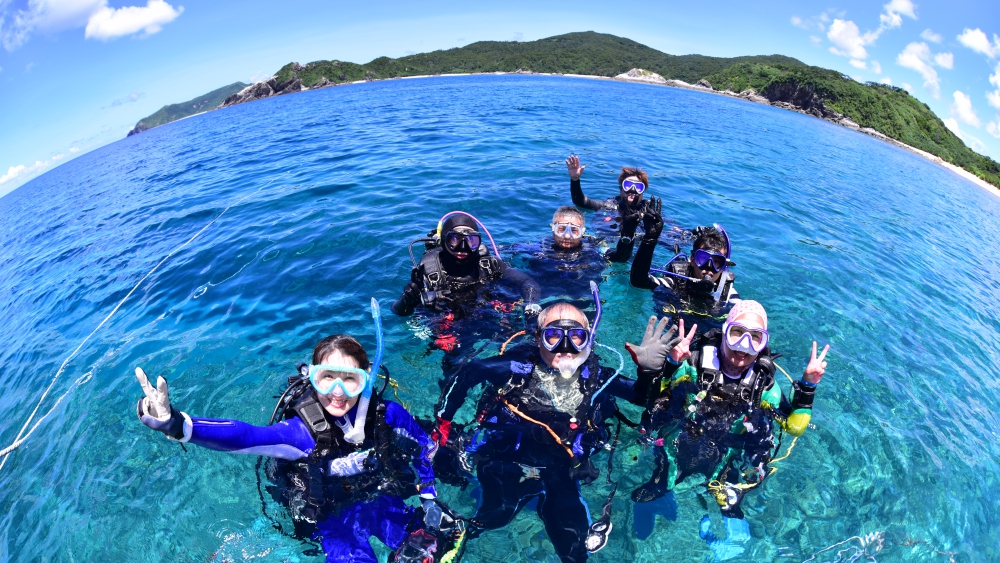 海外、沖縄でのダイビングライセンス講習