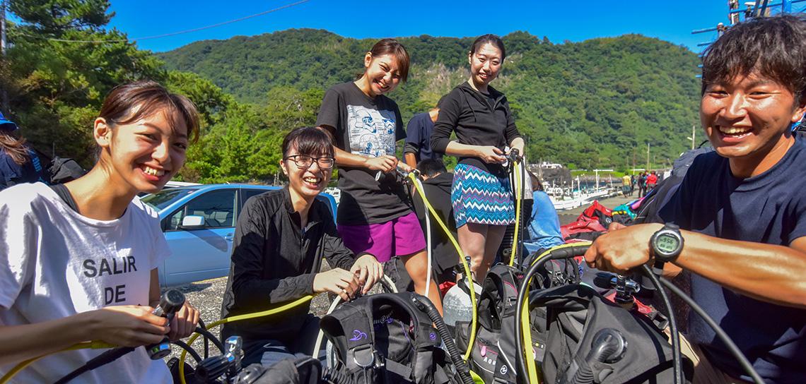 ダイビングショップの選び方|東京・横浜・神奈川で人気のショップ
