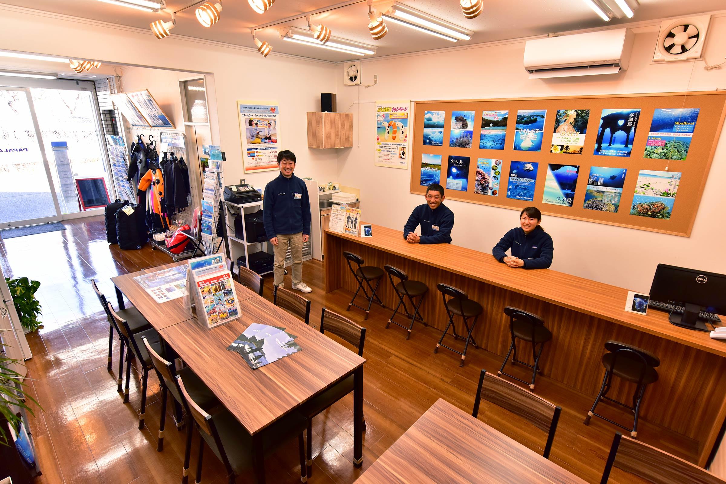 パパラギ ダイビングスクール藤沢本店|PADIダイビングライセンス発行