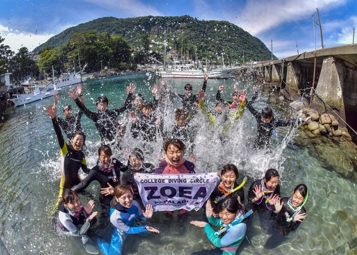 学生のダイビングを徹底サポート