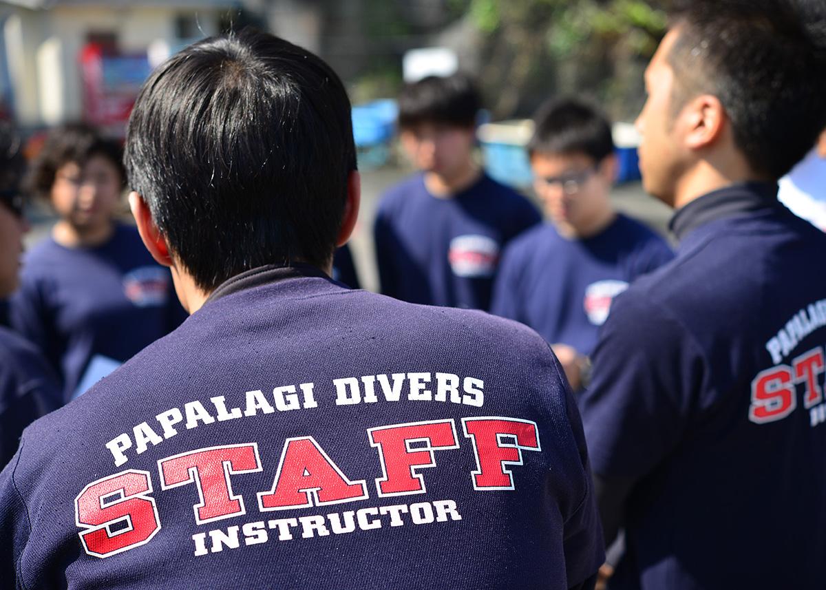 45名以上のプロ・インストラクターが在籍。なので毎日講習が可能!